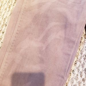 Madewell Jeans - Madewell size 25 skinny low jean brown destressed